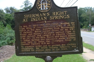 Sherman at Indian Springs